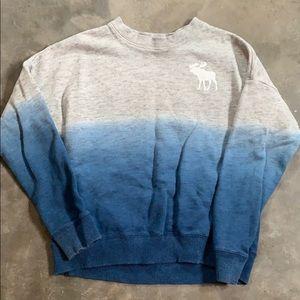 Girls Abercrombie sweatshirt